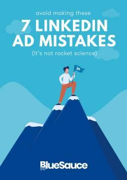 LinkedIn ad mistakes e-book